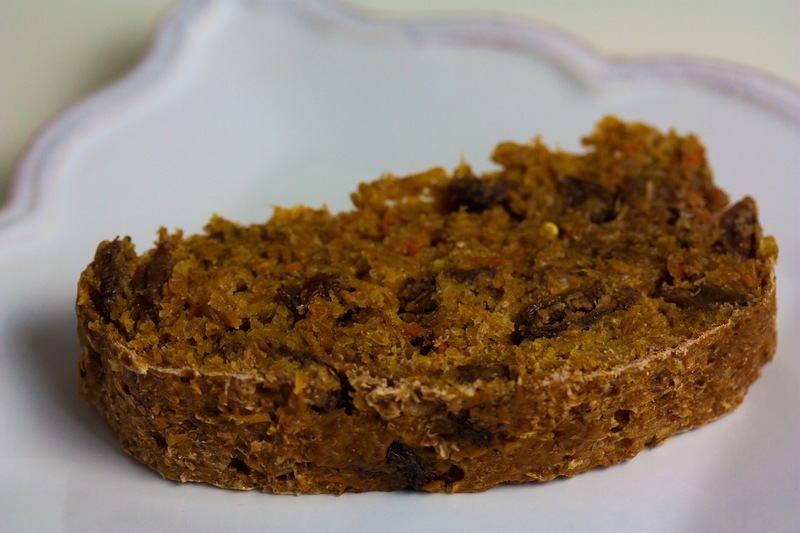 Carrot Raisin Manna Bread