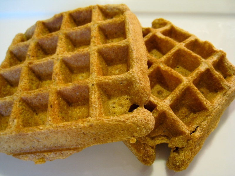 Hearty Vegan Waffles