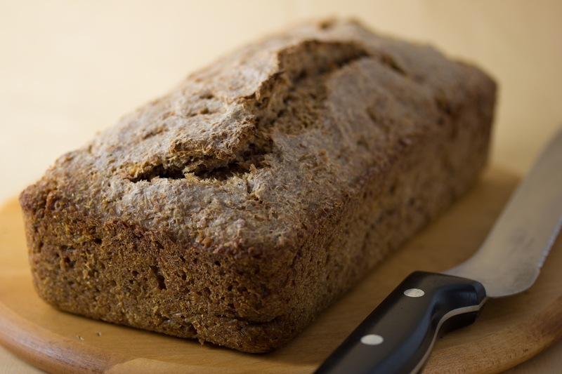 Vegan Flourless Sprouted Wheat Bread