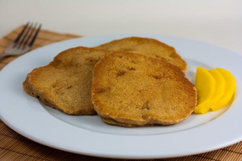 Vegan Coconut Mango Pancakes
