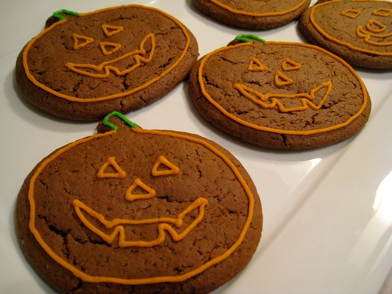 Vegan Pumpkin Gingerbread Cookies