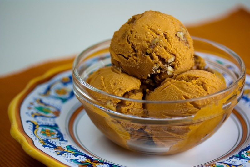 Coconut & Purple Sweet Potato Ice Cream (Vegan ... |Vegan Sweet Potato Ice Cream