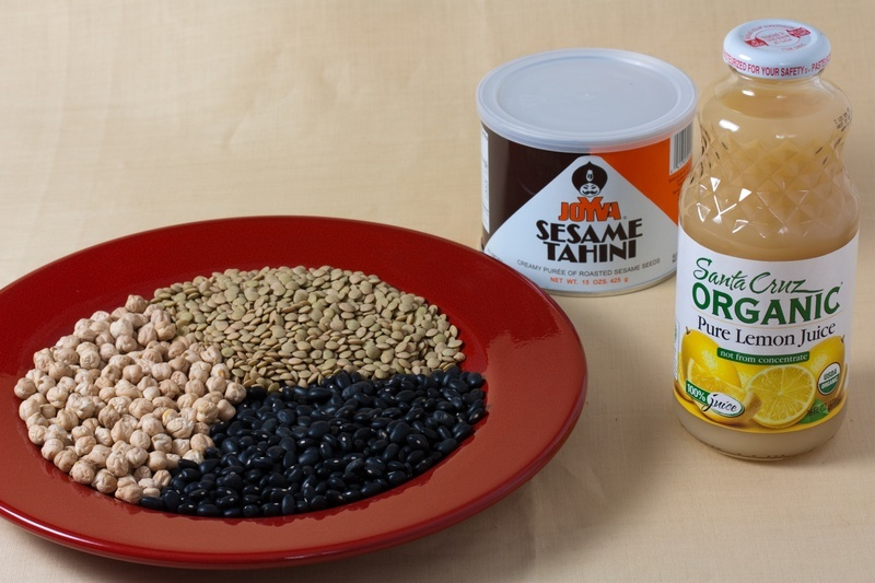 Three Bean Hummus Ingredient
