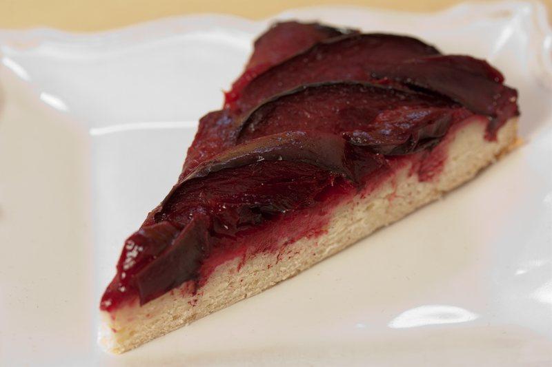 Plum Cake slice