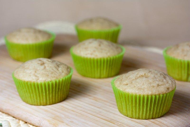 Vegan Vanilla Cupcakes - Quick Bread Method