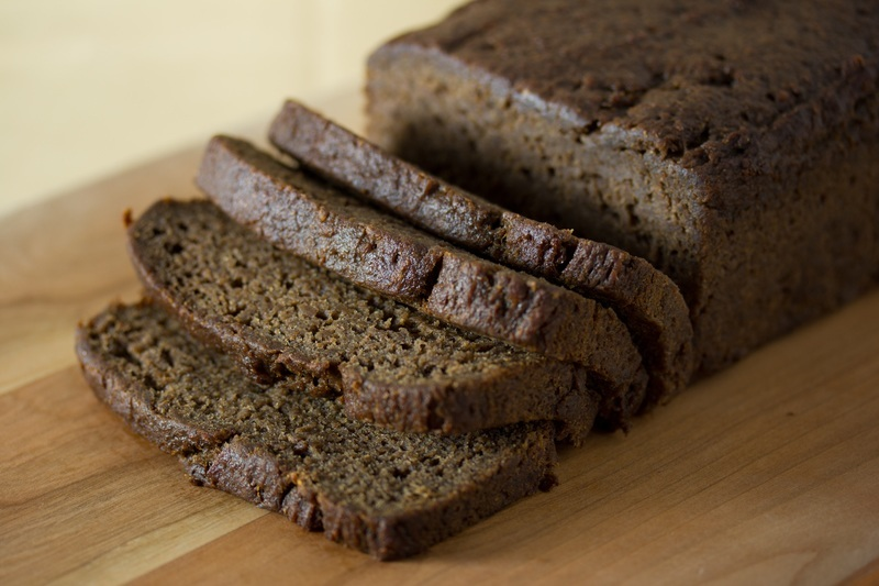 Vegan Fruit Sweetened Banana Bread